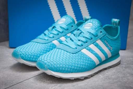 Кроссовки женские Adidas Lite, голубой (13418) размеры в наличии ►