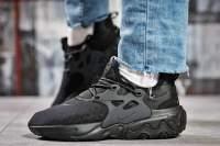 Кроссовки женские Nike React, черные (15444) размеры в наличии ►