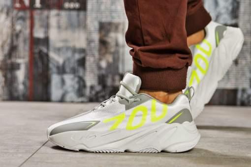 Кроссовки мужские Adidas Yeezy 700, серые (15521) размеры в наличии ►