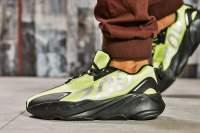 Кроссовки мужские Adidas Yeezy 700, зеленые (15524) размеры в наличии ►