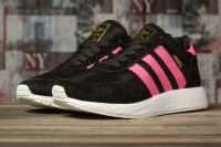 Кроссовки женские 16873, Adidas Iniki, черные