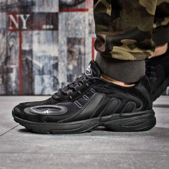 Кроссовки мужские Adidas Galaxy, черные (15911) размеры в наличии ►