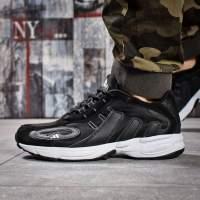 Кроссовки мужские Adidas Galaxy, черные (15915) размеры в наличии ►