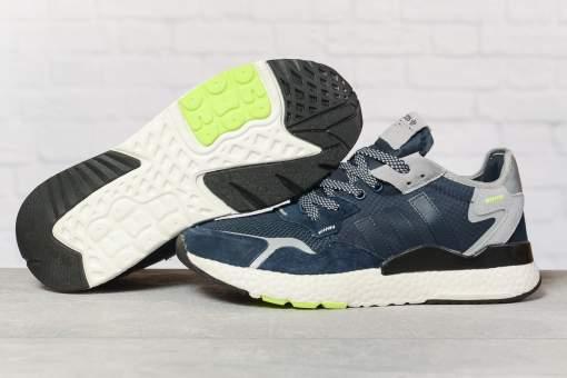 Кроссовки мужские 17294, Adidas 3M, темно-синие