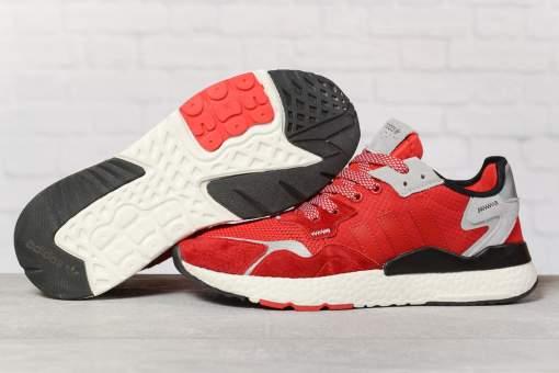 Кроссовки мужские 17297, Adidas 3M, красные