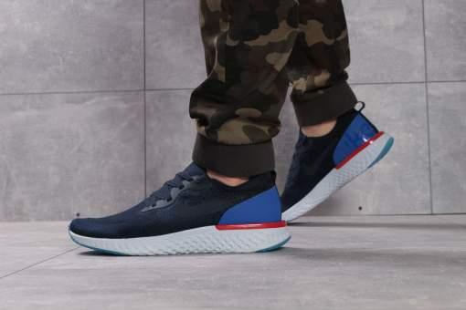 Кроссовки мужские Nike Epic React, темно-синие (16101) размеры в наличии ►