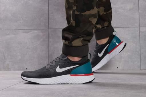 Кроссовки мужские Nike Epic React, темно-серые (16103) размеры в наличии ►
