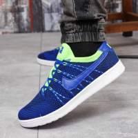 Кроссовки мужские 18081 Nike Tennis Classic Ultra Flyknit, темно-синие
