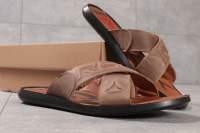 Шлепанцы мужские Reebok Sublite, коричневые (16361) размеры в наличии ►