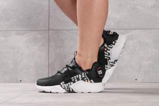Кроссовки женские Nike Air Huarache City Low, черные (16382) размеры в наличии ►