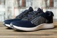 Кроссовки мужские 16463, Yike Running, темно-синие ( 41 42 43 44 45  )