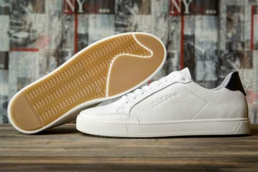 Кроссовки мужские 16631, SSS Shoes, белые