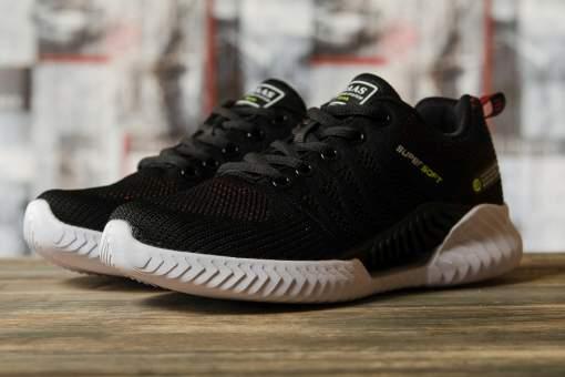 Кроссовки женские 10201, BaaS Ploa, черные