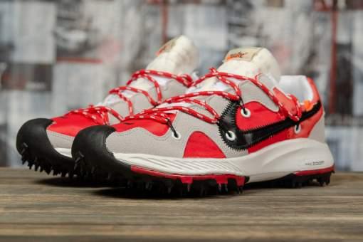 Кроссовки мужские 16721, Nike Air Zoom, красные