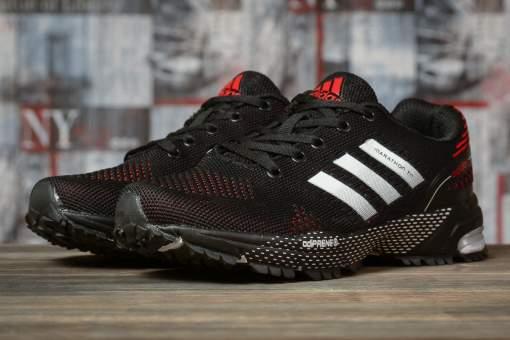 Кроссовки женские 16912, Adidas Marathon Tn, черные