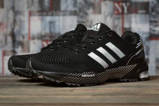 Кроссовки женские 16917, Adidas Marathon Tn, черные