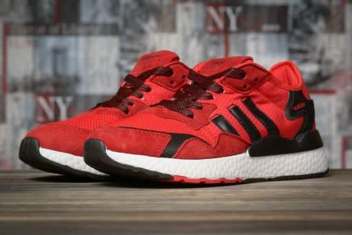 Кроссовки женские 16941, Adidas, красные