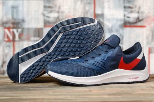 Кроссовки мужские 17073, Nike Zoom Winflo 6, темно-синие