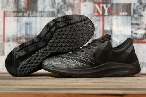 Кроссовки мужские 17076, Nike Zoom Winflo 6, черные