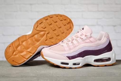 Кроссовки женские 17142, Air, розовые
