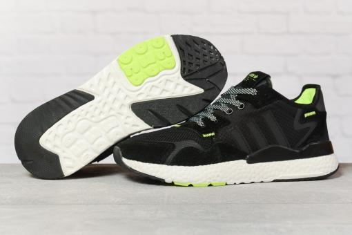 Кроссовки мужские 17298, Adidas 3M, черные