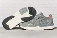Кроссовки мужские 17299, Adidas 3M, темно-серые