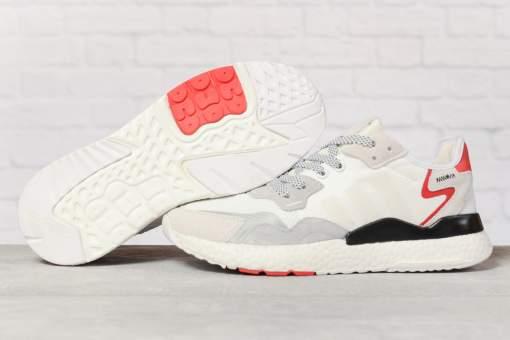 Кроссовки мужские 17300, Adidas 3M, белые