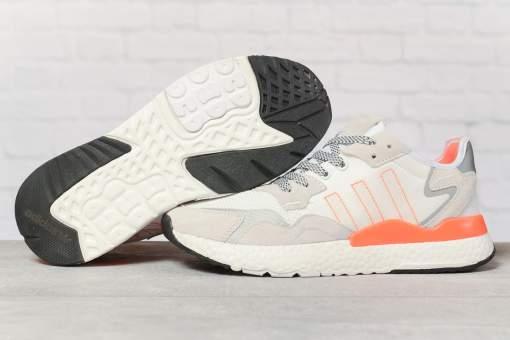 Кроссовки мужские 17301, Adidas 3M, белые