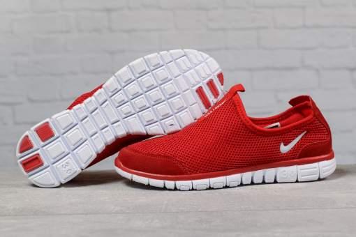 Кроссовки мужские 17496, Nike Free 3.0, красные