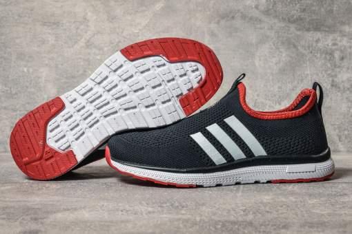 Кроссовки женские 17603, Adidas sport, темно-синие