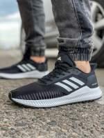 Кроссовки мужские 18461 Adidas Bounce черные