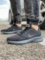 Кроссовки мужские 18471 Nike Zoom Winflo 8 темно-серые