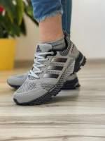 Кроссовки женские 18571 Adidas Marathon Tr 26 серые