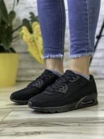 Кроссовки женские 18751 Airmax черные