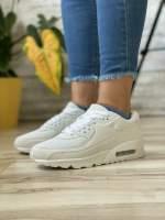 Кроссовки женские 18752 Airmax белые