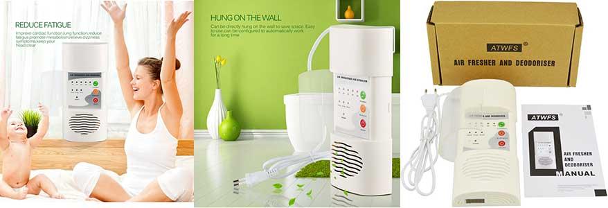 Кухонний очищувач повітря ATWFS - озонатор іонізатор